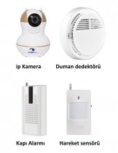 Angeleye Ks 511 Full Hd Wifi Ev Ve Bebek İp Kamera 4in1 Full Set