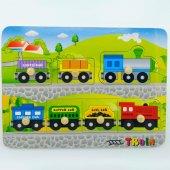 Tren Ahşap Puzzle
