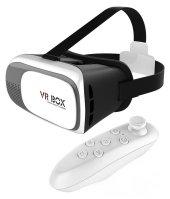 Sanal Gerçeklik 3d Gözlük Ve Bluetooth Uzaktan Kumanda