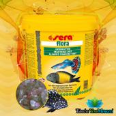 Sera Flora Bitkisel Pul Balık Yemi 100 Gram