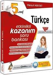 çanta Yayınları 5. Sınıf Türkçe Etkinlikli Kazanım Soru Bankası