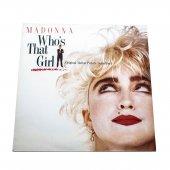 Plak Madonna Who S That Girl 33 Lük