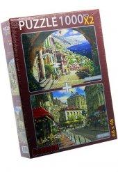 Archway Posıtano Reu Du Soleıl 2x1000 Parça Yapboz Puzzle Gordion