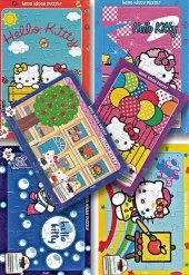 Hello Kitty Puzzle Seti 6 Adet Gordion Junior