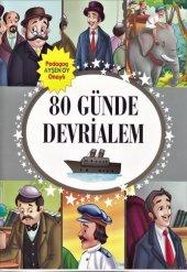 80 Günde Devrialem Hikayeli Sticker (Çıkartma) Kitabı