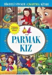 Parmak Kız Hikayeli Sticker (Çıkartma) Kitabı