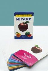 Meyveler Bak Öğren Eğitici Öğretici Kartlar