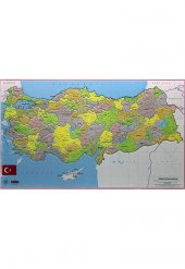 Türkiye Haritası Yapboz Puzzle Gordion