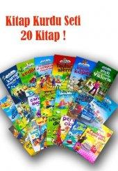 Kitap Kurdu Çocuklar İçin Hikaye Seti 20 Kitap