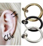 Fake Piercing Deliksiz Burun Kulak Dudak Tüm Bölge Tek Çift Alım