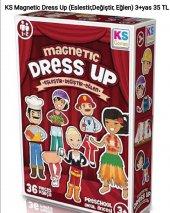Ks Magnetic Dress Up (Eşleştir, Değiştir, Eğlen)(3...