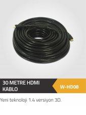 30 Metre Hdmı 1.4 Versiyon 4k Bakır Kablo