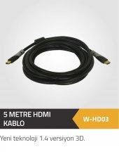 5 Metre Hdmı 1.4 Versiyon 4k Bakır Kablo