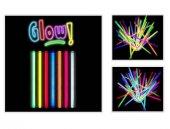Glow Stick 20cm Fosforlu Kırılan Çubuk (10 Adet)