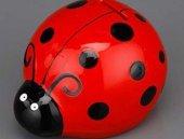 Dekoratif Seramik Uğur Böceği Kumbara