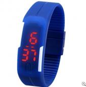 Su Geçirmez Dijital Led Kol Saati Silikon Bileklik Saat
