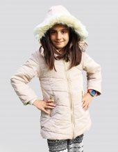 Milan Çocuk Club Kız 6 7 8 9 Yaş Çocuk Kaban Mont Bej Renk
