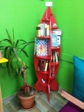 Roket Lake Montessori Kitaplık Raf