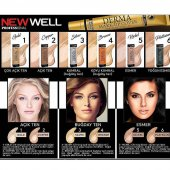 New Well Derma Cover Make Up Porselen Fondöten Kap...