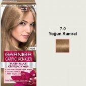 Garnier Naturel Çarpıcı Saç Boyası 7.0 Yoğun Kumra...