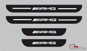 Mercedes Amg Plastik Kapı Eşiği (4lü Set)