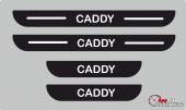 Volkswagen Caddy Plastik Kapı Eşiği (4lü Set)
