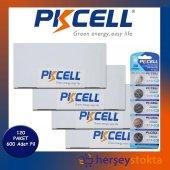 Pkcell Lityum Düğme Pil 3v Cr2032 600 Adet