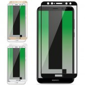 Huawei Mate 10 Lite Pro 3d Tam Ekran Cam Koruyucu Full Ekran