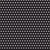 Siyah Zemin Üzerine Küçük Beyaz Puanlı Keçe Plaka (Dk P8)