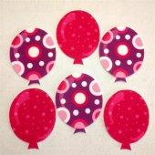 Balon Desenli Ütüyle Yapışan Keçe Aplike (Dk 91y)