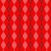 Kırmızı Baklava Desenli Keçe Plaka (Dk P129)