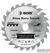 Sgs Elmas Sunta Testeresi 115 Mm 36 T Sgs3001