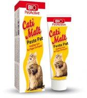 Bio Petactive Cati Malt Paste Pat Kedi Kıl Topu Önleyici 100 Ml