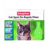 Beaphar Bio Spot On Kedi İçin Sivrisinek Kene Pire Damlası 3 Pipe
