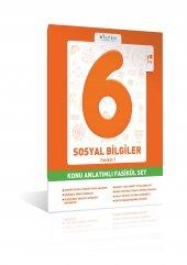 Bilfen 6. Sınıf Sosyal Bilgiler Konu Anlatım (5 Fasikül)