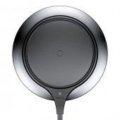 Baseus Metal Apple İphone Wireless Hızlı Siyah Şarj Cihazı 7.5w