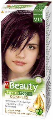 Beauty Doğal Bitkisel Saç Boyası M15 (Kızıl Kestane)