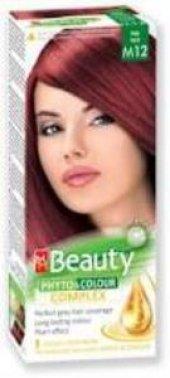 Beauty Bitkisel Saç Boyası M12 (Ateş Kızılı)