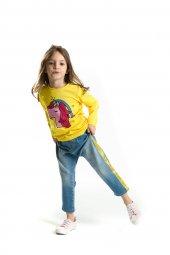Denokids Cool Line Kız Çocuk Jean Takım