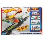 Hotwheels Track Builder Süper Fırlatma Aksiyonu Yarış Seti Flk60