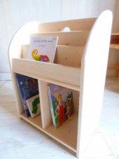 Tamara Ahşap Montessori Kitaplık Raf
