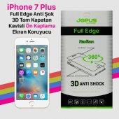 Iphone 7 Plus Anti Shock Full Kaplama Cizilmez Ekran Koruyucu İdeal Telefon