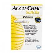 Accu Chek Softclix Lanset 100 İğne Lancets