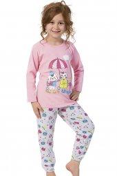 özkan 42204 Kız Çocuk Pijama Takımı