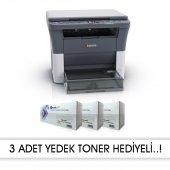 Kyocera Fs1020 Mfp 3 Adet Muadil+1 Adet Orjınal Tonerli (10.000 Sayfalık Toner) Laser Yazıcı
