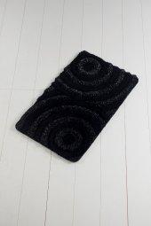 Wave Siyah 60x100 Cm