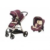 Baby2go Viber Lx 8050 Mor Bebek Arabası