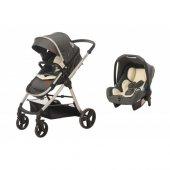 Baby2go Viber Lx 8050 Gri Bebek Arabası