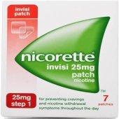 Nicorette Invisi 1.adım 25 Mg Nikotin Bandı 7 Bant