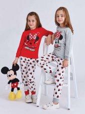 Rp 4009 Mınnıe Mouse Kız Çocuk Pijama Takımı 1 4